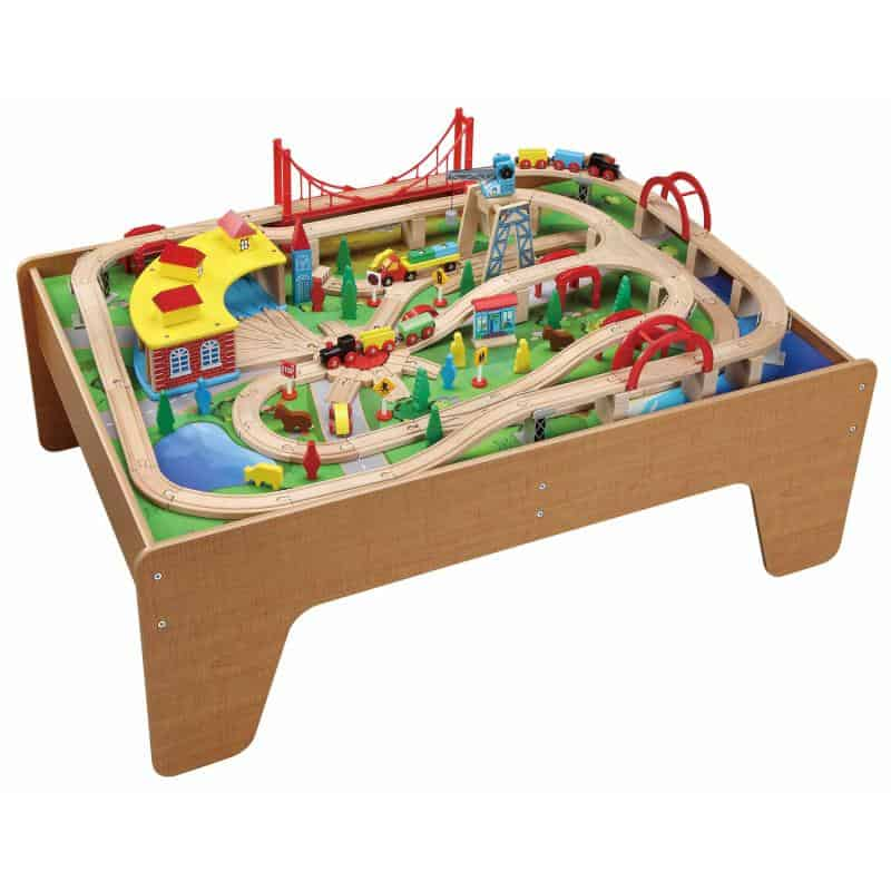 brio train tables and sets