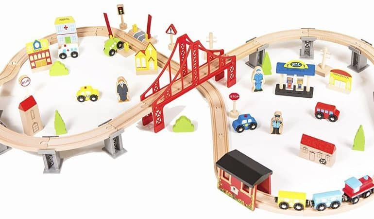Best Wooden Train Sets For Kids
