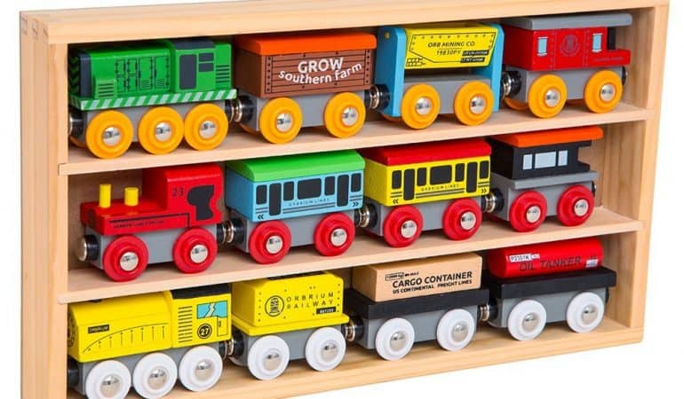 Wooden Toy Train Sets