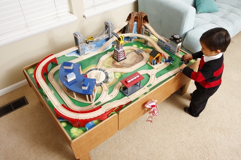 Best Train Tables | Toy Train Center