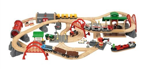 Brio 33052 Deluxe Railway Set  sc 1 st  Toy Train Center & Brio Train Tables and Sets | Toy Train Center