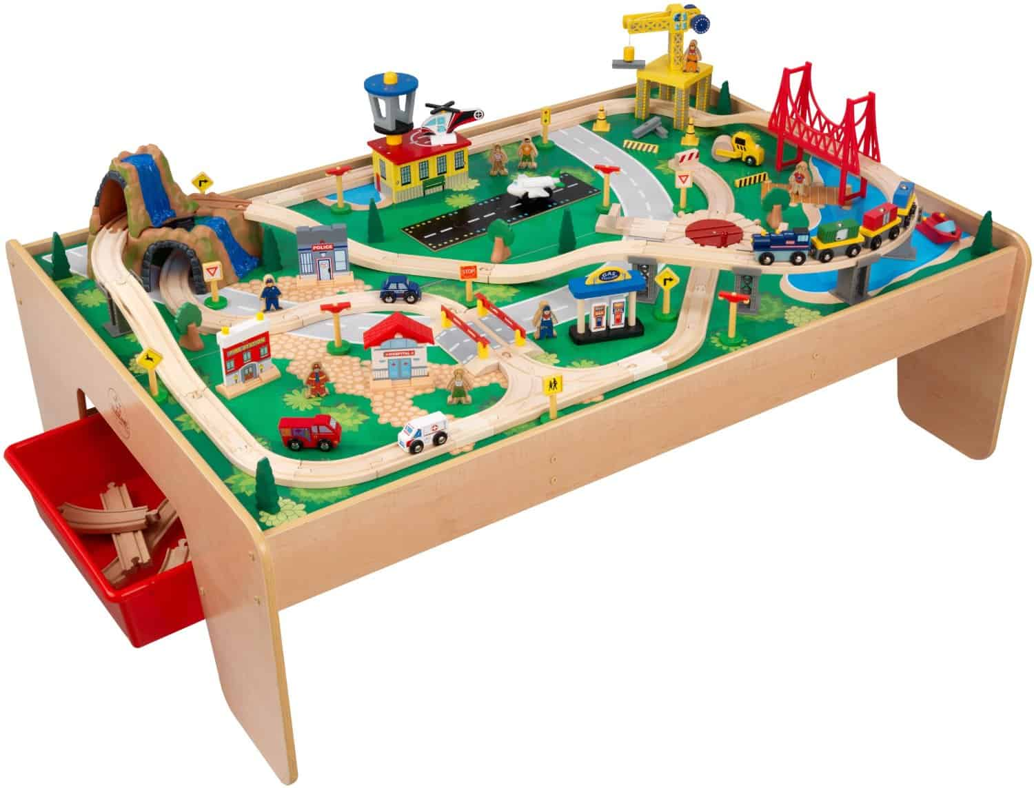 Kidkraft Train Table and Set  sc 1 st  Toy Train Center : thomas train table set up - pezcame.com