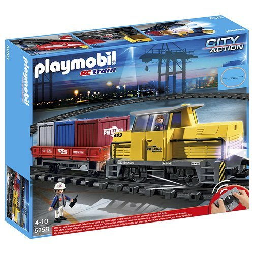 Lego train set or Playmobil train set - Ultimate Train Guide
