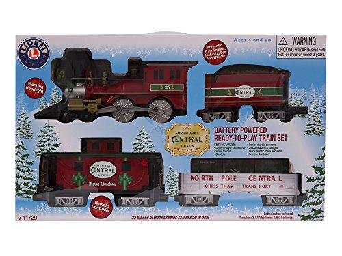 lionel north pole central ready to play train set