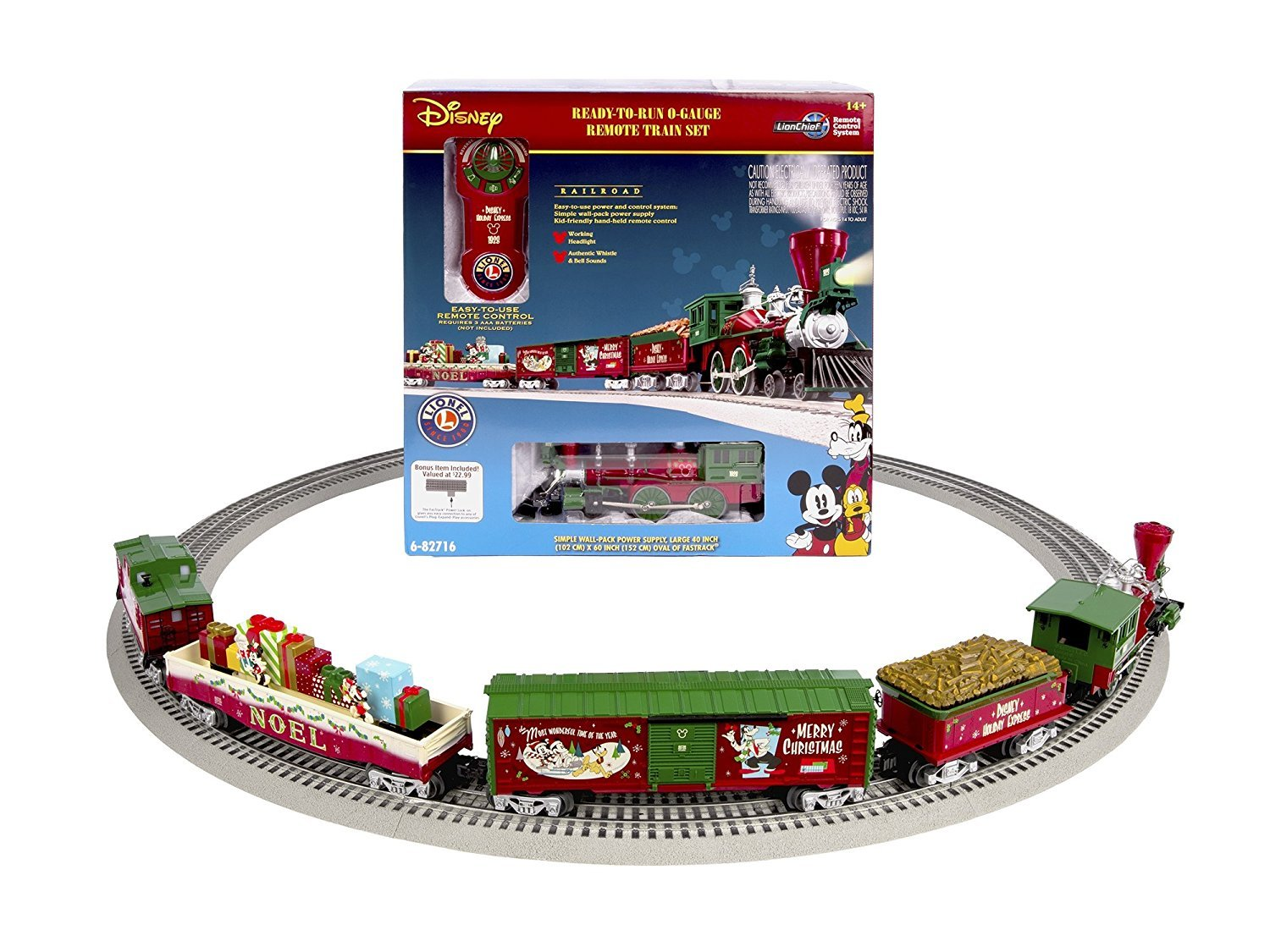 25 Lionel Christmas Trains | Toy Train Center