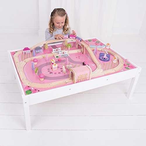 Bigjigs Rail Magical Train Set and Table  sc 1 st  Toy Train Center & 17 Best Girls Train Set | Toy Train Center