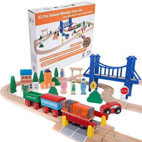 Best Wooden Train Sets For Kids | Toy Train Center