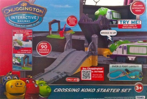 Chuggington Interactive Railway Crossing Koko Starter Set & Koko Chuggington | Toy Train Center
