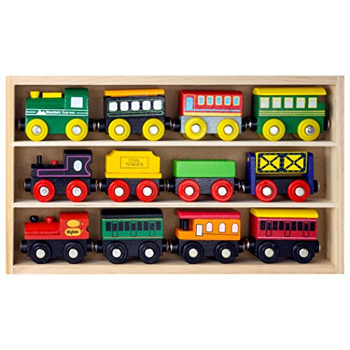 Wooden Train Set For Kids | Toy Train Center