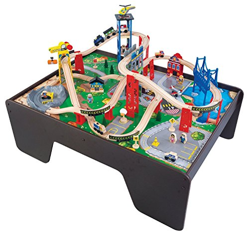 KidKraft Super Expressway Train Set \u0026 Table  sc 1 st  Toy Train Center & Thomas the Train Table | Toy Train Center