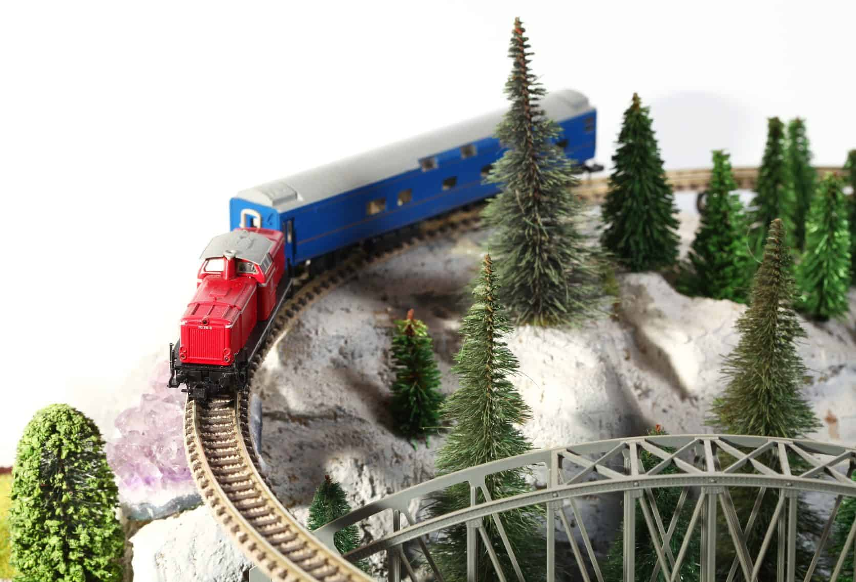 How to Make Your Own Trees for Model Railroad | Toy Train Center