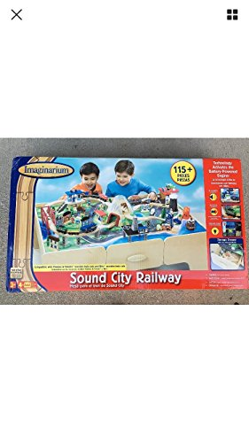 Imaginarium 115-Piece Sound City Railway Train Table with Two Storage Drawers  sc 1 st  Toy Train Center & Best Imaginarium Train Table | Toy Train Center