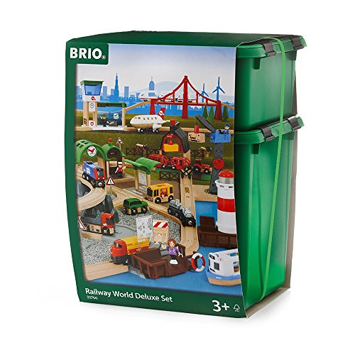 This is the Railway World Deluxe Set from Brio. This is probably everything your child wants with their train table set. There is only some of the greatest ...  sc 1 st  Toy Train Center & Brio Train Tables and Sets | Toy Train Center