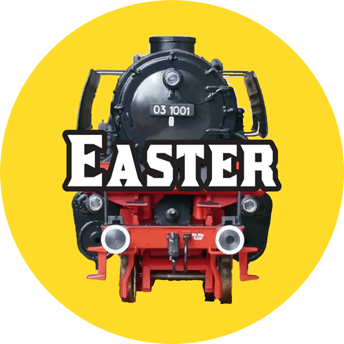 toy trains easter