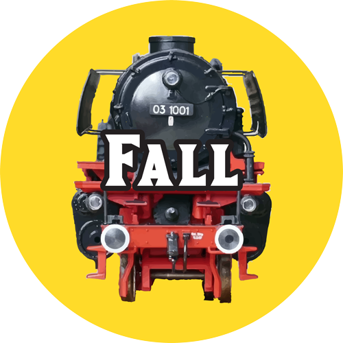 toy trains fall