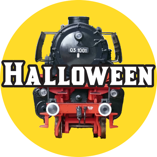toy trains halloween