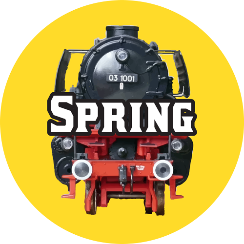 toy trains spring