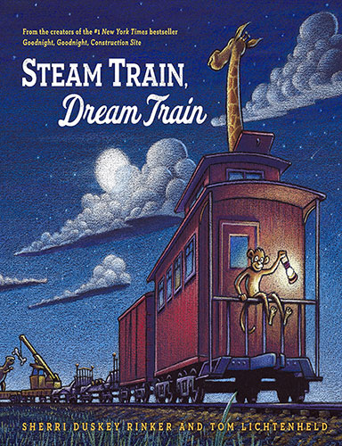 trains books