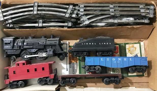 1955 Lionel Train Set Value